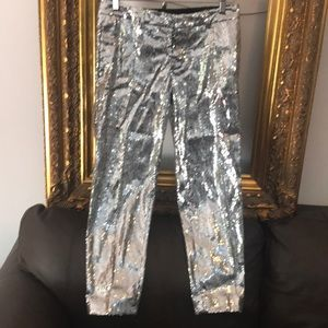 Dsquared 2 sequined pants size 38